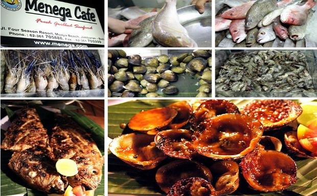 Jimbaran Beach Cafe Menu